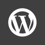 Billedet viser ikonet for Wordpress hjemmeside